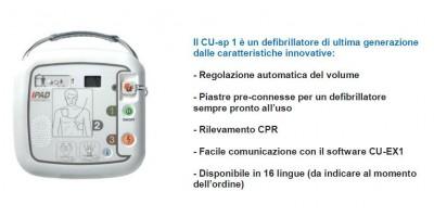 DEFIBRILLATORE CU-SP1